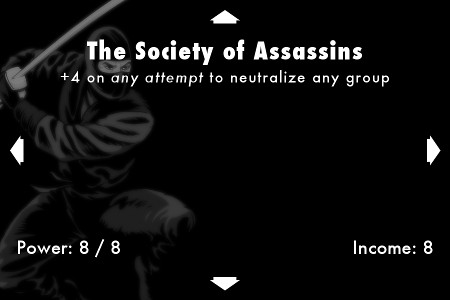 Eve of Destruction - Society of Assassins Card