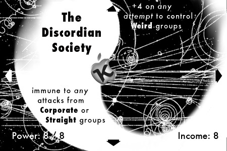 Eve of Destruction - Discordian Society Card